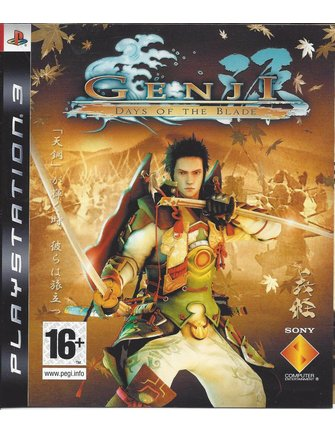 GENJI DAYS OF THE BLADE voor Playstation 3 PS3