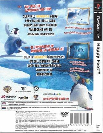 HAPPY FEET voor Playstation 2 PS2