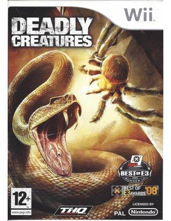 DEADLY CREATURES voor Nintendo Wii