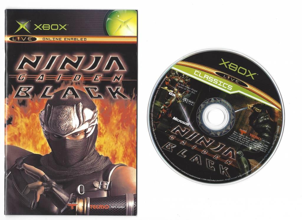 Ninja Gaiden Black For Xbox Worldwide Shipping Fast Dispatch