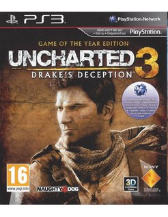 UNCHARTED 3 DRAKE'S DECEPTION - GOTY EDITION für Playstation 3 PS3