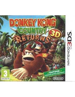 DONKEY KONG COUNTRY RETURNS 3D voor Nintendo 3DS