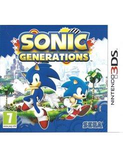 SONIC GENERATIONS voor Nintendo 3DS