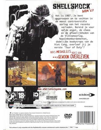 SHELLSHOCK SHELL SHOCK NAM '67 for Playstation 2 PS2