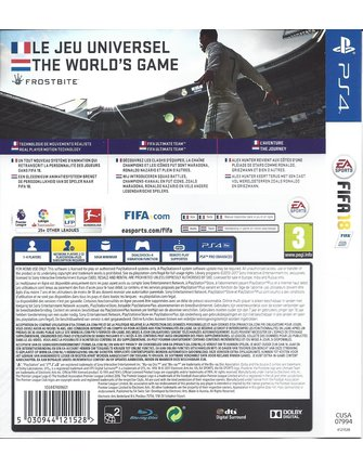 FIFA 18 for Playstation 4 PS4