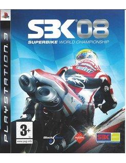 SBK 08 SUPERBIKE WORLD CHAMPIONSHIP voor Playstation 3 PS3