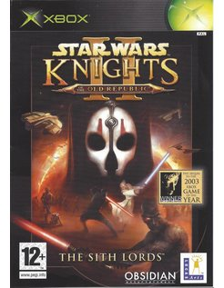 STAR WARS KNIGHTS OF THE OLD REPUBLIC II (2) THE SITH LORDS voor Xbox