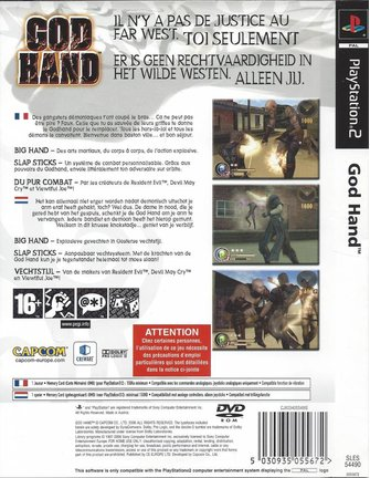 GOD HAND for Playstation 2 PS2