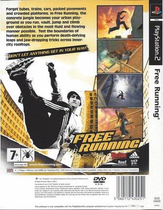 FREE RUNNING voor Playstation 2 PS2