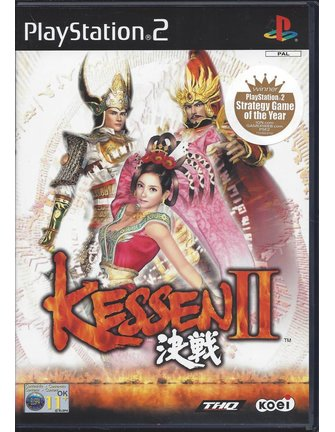 KESSEN II (2) for Playstation 2 PS2