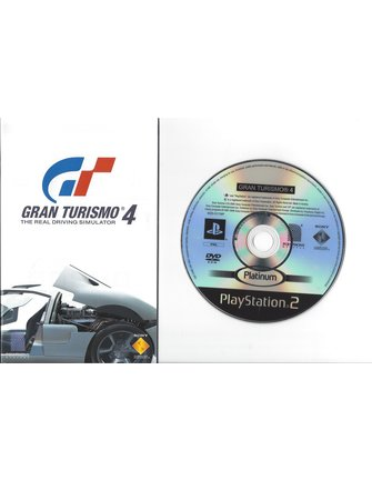 GRAN TURISMO 4 für Playstation 2 PS2 - mit Box, Anleitung