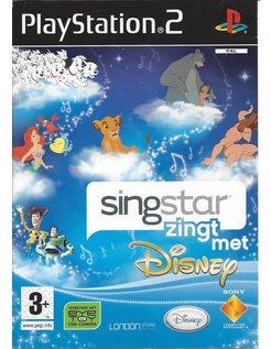 SINGSTAR ZINGT MET DISNEY voor Playstation 2 PS2