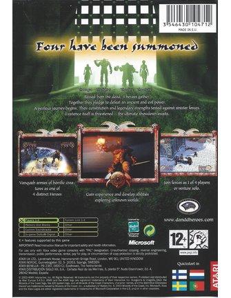 DUNGEONS & DRAGONS HEROES voor Xbox