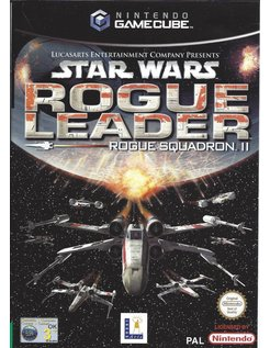 STAR WARS ROGUE LEADER - ROGUE SQUADRON II voor Gamecube
