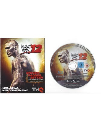 WWE 12 for Playstation 3 PS3