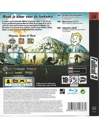 FALLOUT 3 for Playstation 3 PS3
