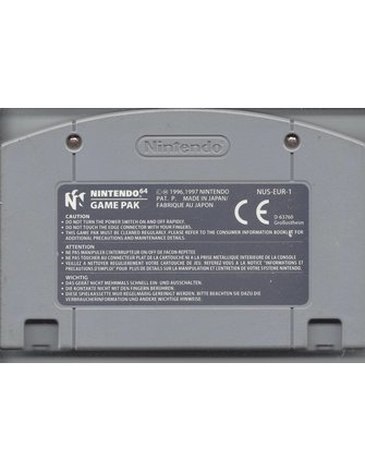 1080 SNOWBOARDING voor de Nintendo 64 N64