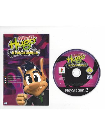 AGENT HUGO ROBORUMBLE voor Playstation 2 PS2