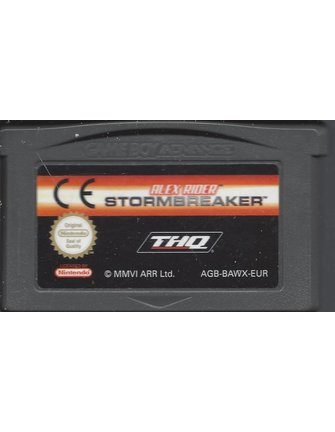 ALEX RIDER STORMBREAKER voor Game Boy Advance GBA