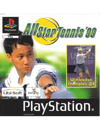 ALL STAR TENNIS '99 voor Playstation 1 PS1