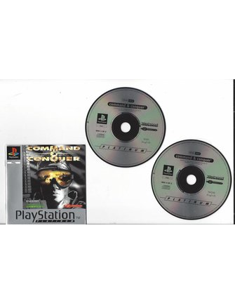COMMAND & CONQUER voor Playstation 1 PS1