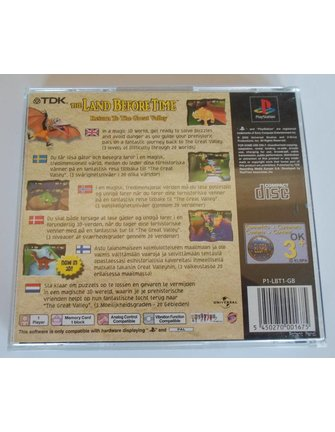 THE LAND BEFORE TIME - RETURN TO THE GREAT VALLEY voor Playstation 1 PS1