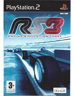 RACING SIMULATION 3 voor Playstation 2