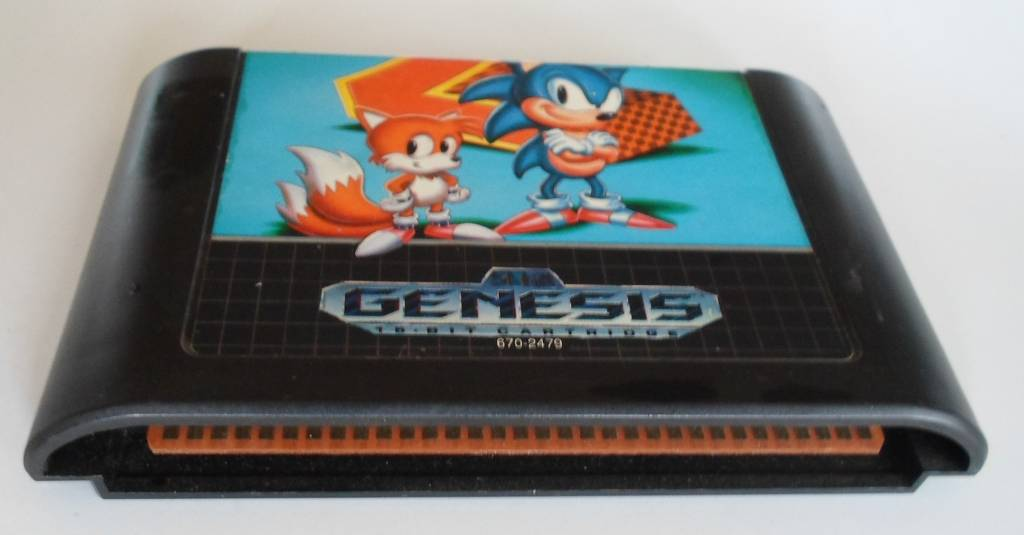Sonic The Hedgehog 2 For Sega Genesis Worldwide Shipping Fast Dispatch Passion For Games