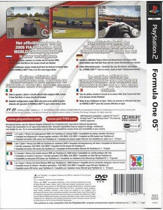 FORMULA ONE 05 für Playstation 2 PS2