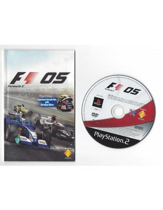 FORMULA ONE 05 voor Playstation 2 PS2