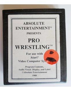 PRO WRESTLING voor Atari 2600