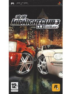 MIDNIGHT CLUB 3 DUB EDITION voor PSP