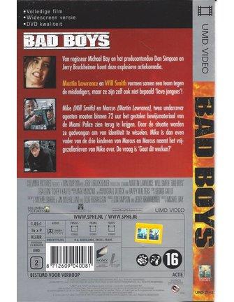 BAD BOYS - UMD Video for PSP
