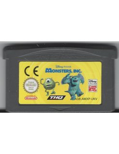 MONSTERS INC voor Game Boy Advance
