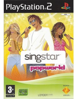 SINGSTAR POPWORLD voor Playstation 2 PS2
