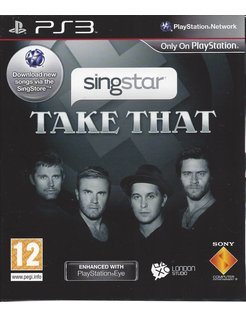 SINGSTAR TAKE THAT for Playstation 3
