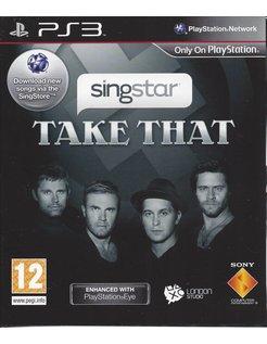 SINGSTAR TAKE THAT voor Playstation 3