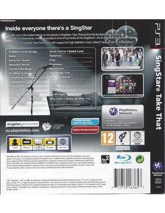 SINGSTAR TAKE THAT voor Playstation 3 PS3