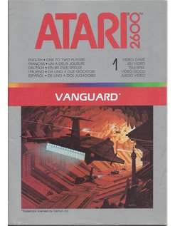 MANUAL for ATARI 2600 GAME CARTRIDGE VANGUARD