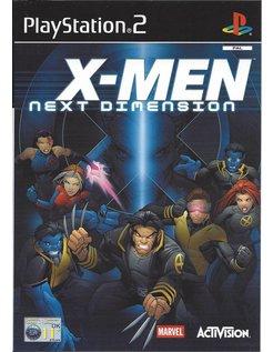 X-MEN NEXT DIMENSION voor Playstation 2 PS2