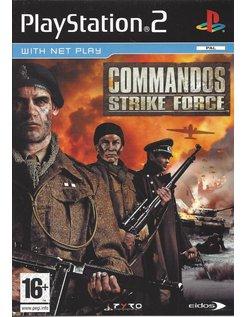 COMMANDOS STRIKE FORCE voor Playstation 2