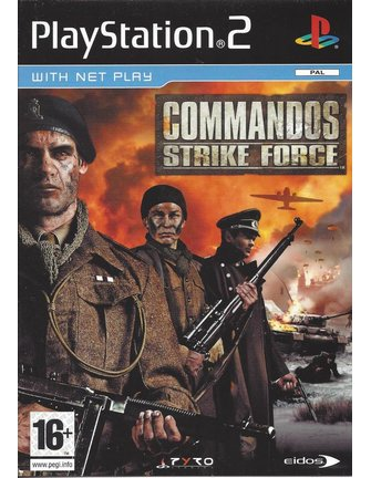 COMMANDOS STRIKE FORCE voor Playstation 2 PS2