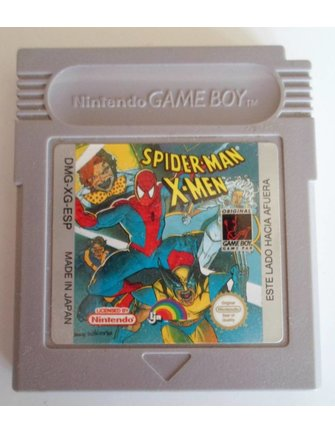 SPIDER-MAN X-MEN (ARCADE'S REVENGE) for Nintendo Game Boy