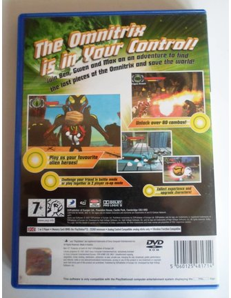 BEN 10 PROTECTOR OF EARTH for Playstation 2 PS2
