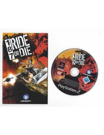 187 RIDE OR DIE voor Playstation 2 PS2