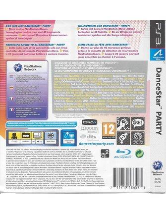 DANCESTAR PARTY voor Playstation 3 PS3