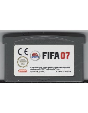 FIFA 07 voor Game Boy Advance GBA