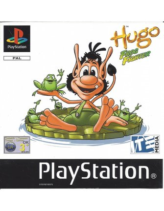 HUGO FROG FIGHTER for Playstation 1 PS1
