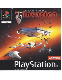 STAR TREK INVASION für Playstation 1