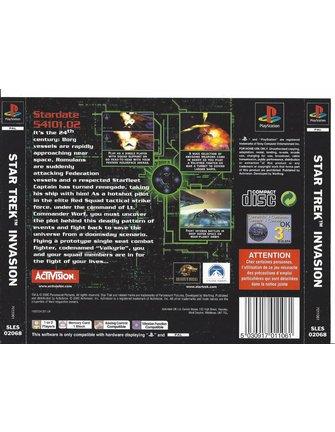 STAR TREK INVASION for Playstation 1 PS1